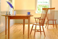Round-cherry-table-chairs
