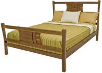 Natural, Organic Walnut Bed Added to Jim Andrews Furniture Collection