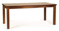 A Modern Mission Table in Natural Solid Walnut Wood