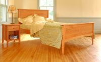 Solid-Cherry-Bed