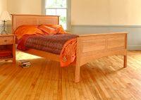 CHERRY-PANEL-BED