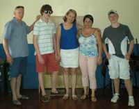 Here we are with Jenny, the school principal