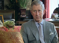 Prince Charles and a Frog