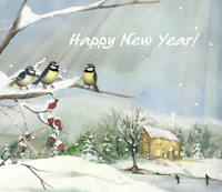 Happy New Year from Vermont Woods Studios