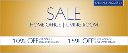 American Made, Real Wood Living Room and Home Office Furniture Sale
