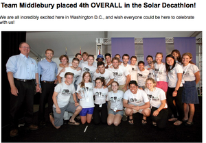 Middlebury-solar-decathalon-results