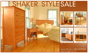Vermont's Best Shaker Furniture Sale – 100% American Made