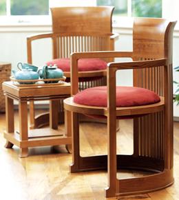 Barrel Chair Copeland Frank Lloyd Wright