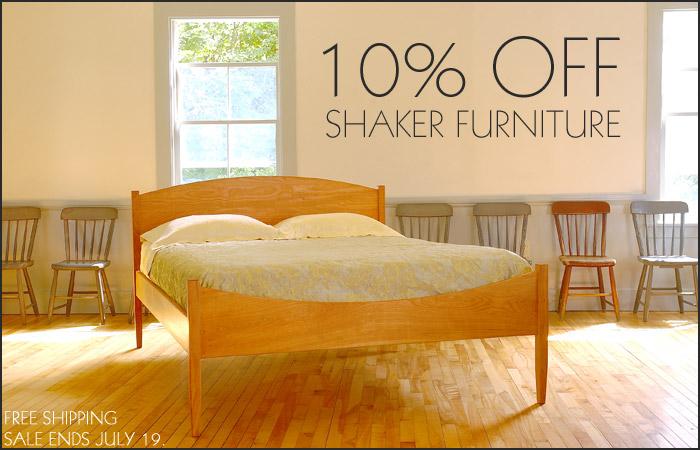 Summer Shaker Style Furniture Sale Vermont Woods Studios Eco