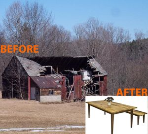 old barns get a second chance as vermont fine furniture vermontold barns get a second chance as vermont fine furniture
