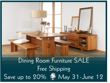 Summer Sale Is On!  American Made Fine Dining Furniture