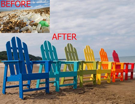All Weather Outdoor Furniture From Recycled Plastic