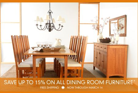 Fine Dining – At Home – In Style – On Sale!