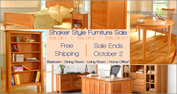 Today S Shaker Furniture On Sale Now Some History A Deal