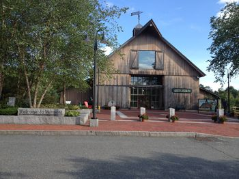 Welcome Center in Guilford, Vermont